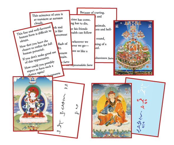 Ngondro Reminder Cards